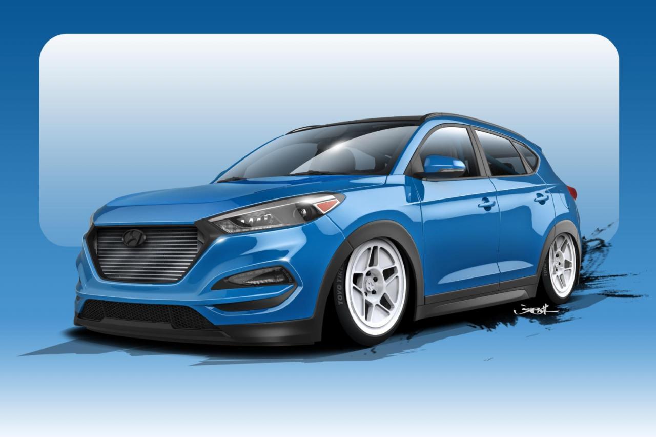 Hyundai Tucson SEMA teaser