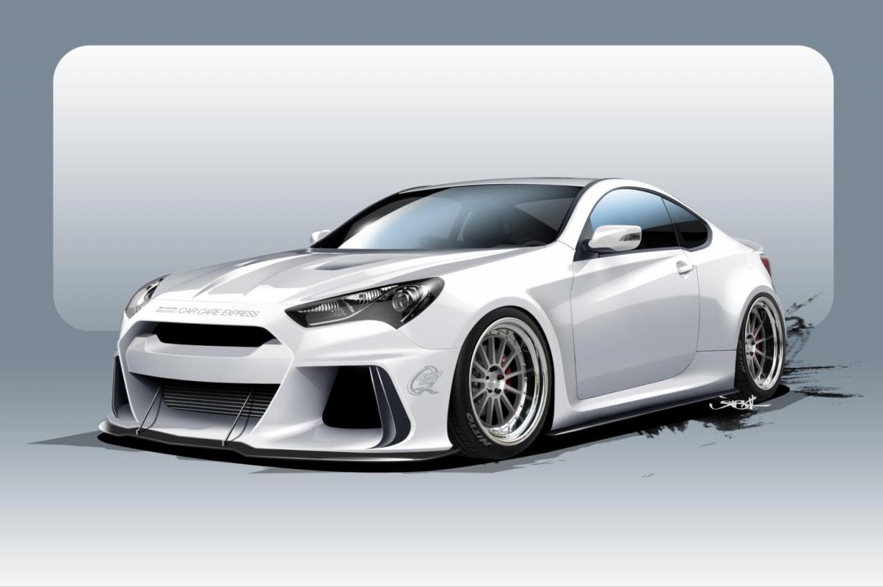 Hyundai Solus Genesis Coupe для SEMA