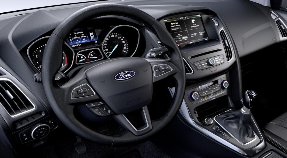 Ford Focus 2015 интерьер