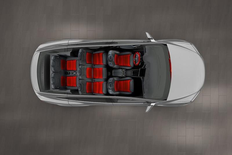 Tesla Model X фото из конфигуратора