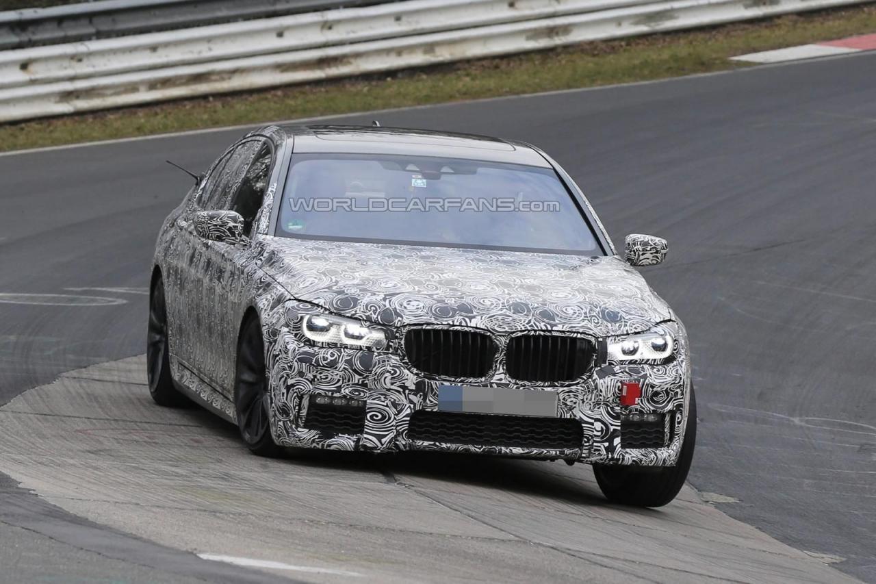 BMW 7-Series 2016 M Sport шпионские фото