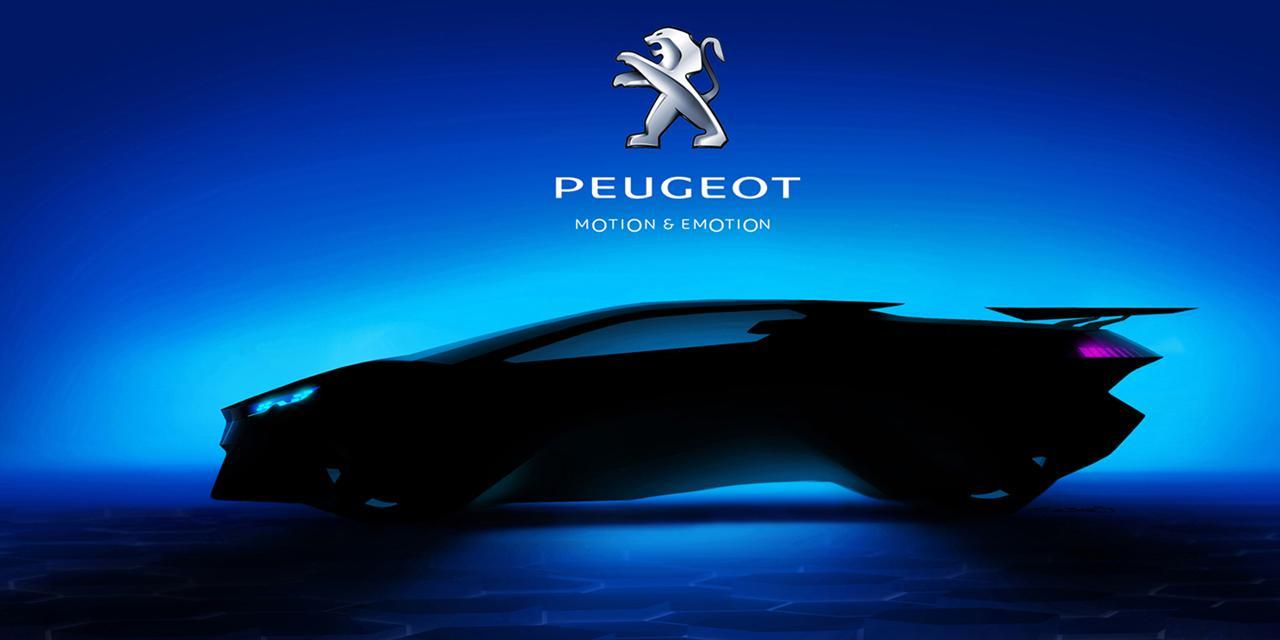 Новый концепт-суперкар Peugeot