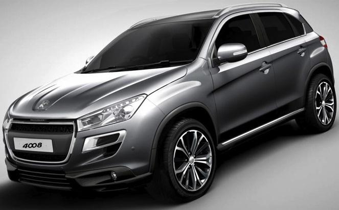 Peugeot представит новый кроссовер