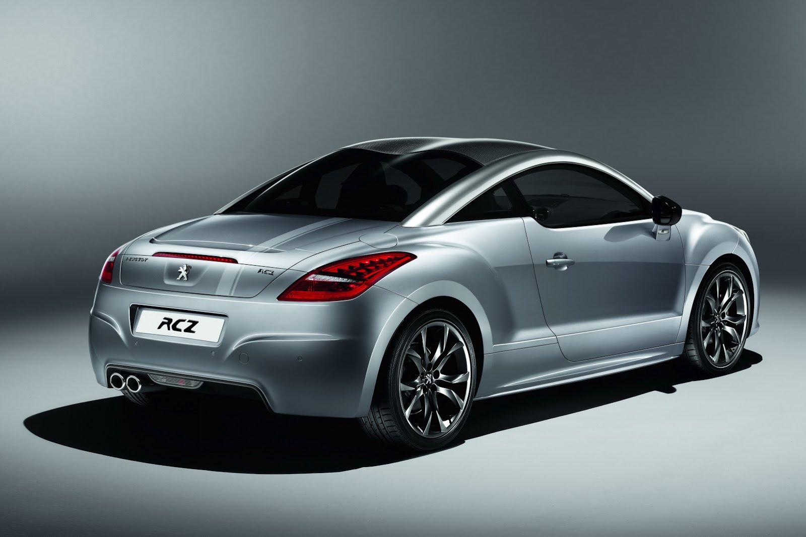 Peugeot выпустил спецверсию модели RCZ — Onyx