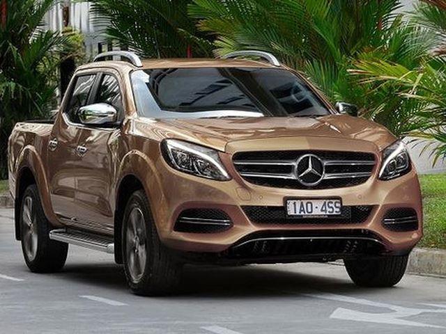По слухам пикап Mercedes-Benz будет создан Nissan на базе Navara