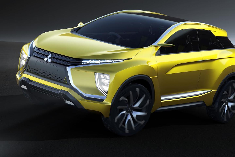 Полноприводный электрический концепт Mitsubishi Ex представлен в Токио