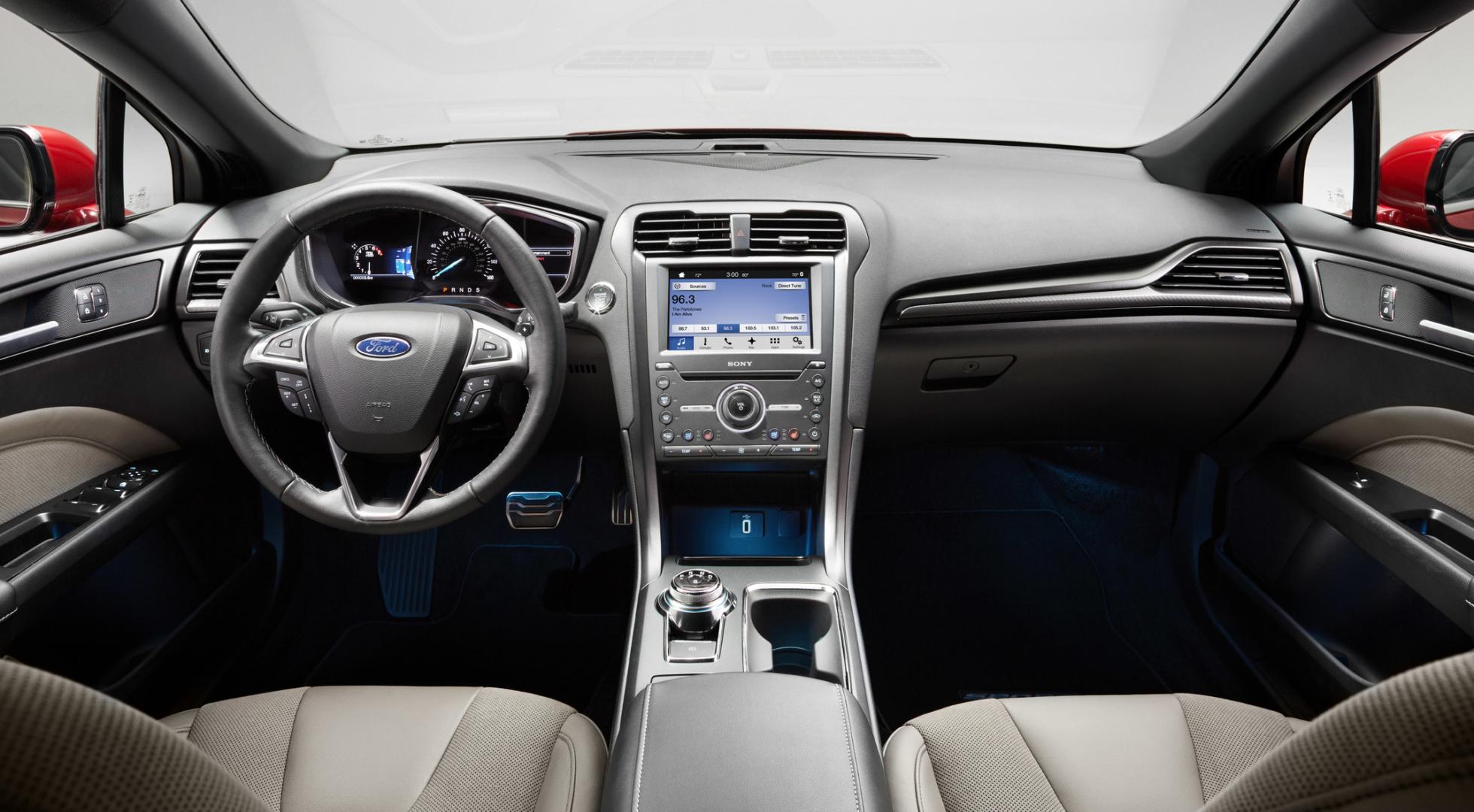 Ford Fusion Sport интерьер