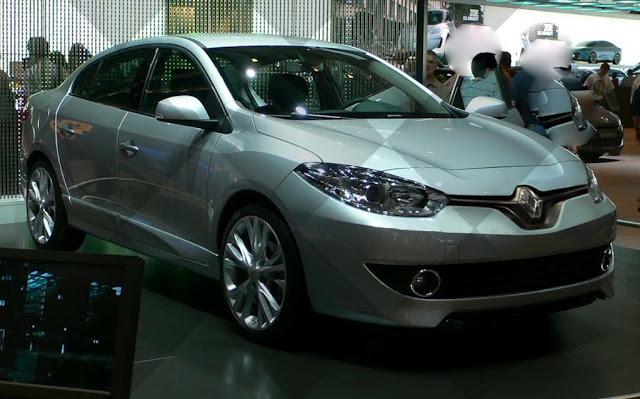 Популярная модель Renault Fluence обновилась
