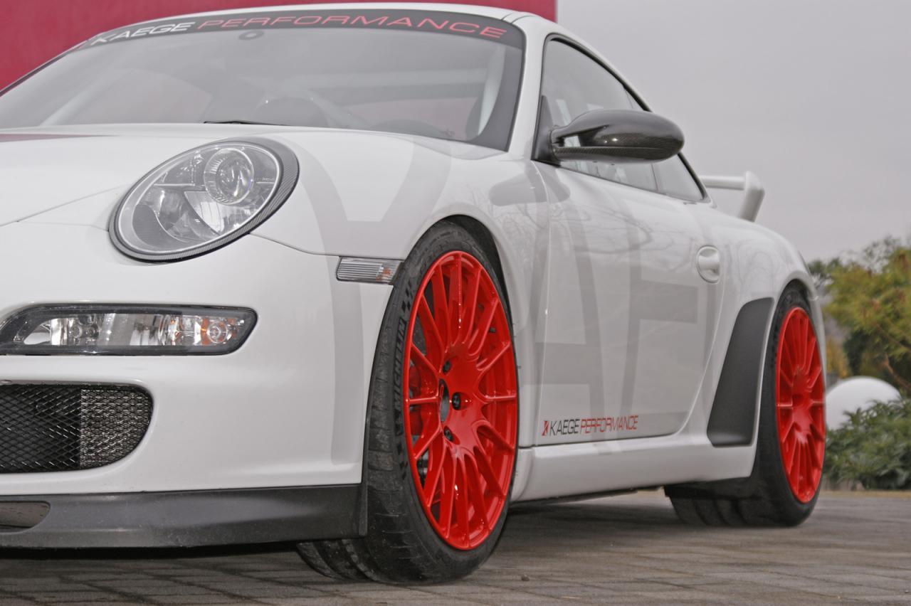 Porsche 911 GT3 (997) тюнинг от KAEGE – больше мощи, меньше массы