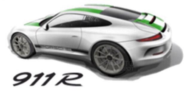 Porsche 911 R (не подтверждено)