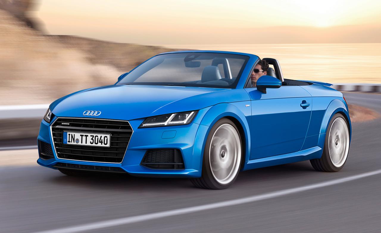 Появилась свежая информация о новом Audi TT Roadster