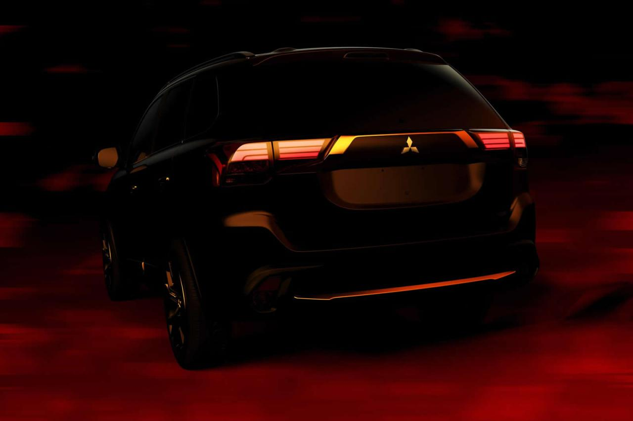 Mitsubishi Outlander 2016 тизер