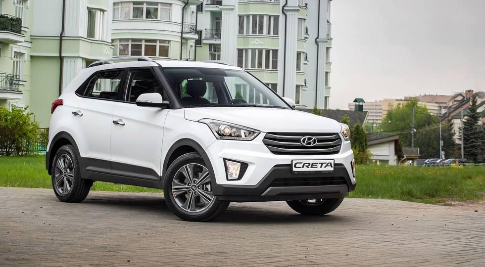 Hyundai Creta российская версия официальное фото