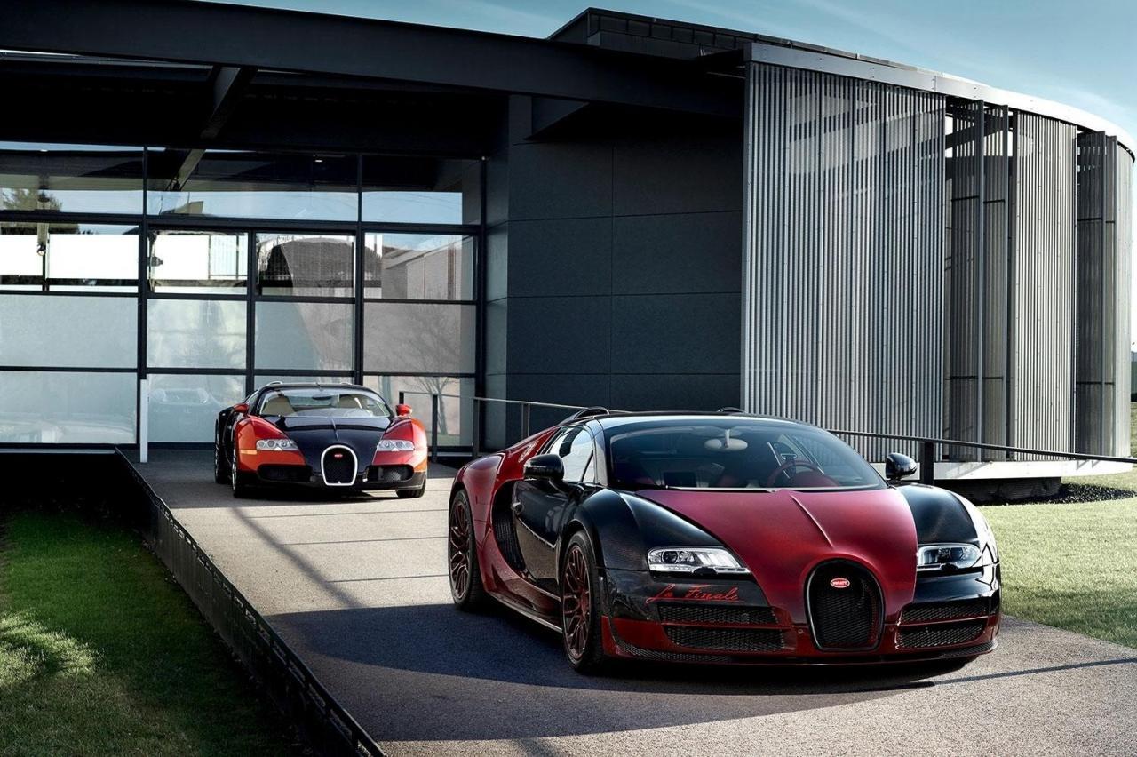 Появились официальные изображения последнего Bugatti Veyron Grand Sport Vitesse La Finale