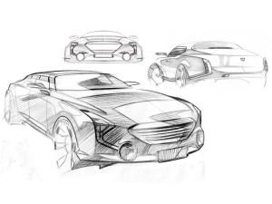 Появились первые эскизы Marussia для проекта «Кортеж»