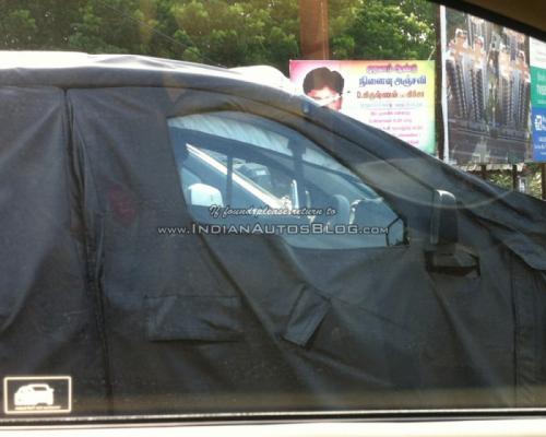 Renault Kayou шпионские фото/spy photo