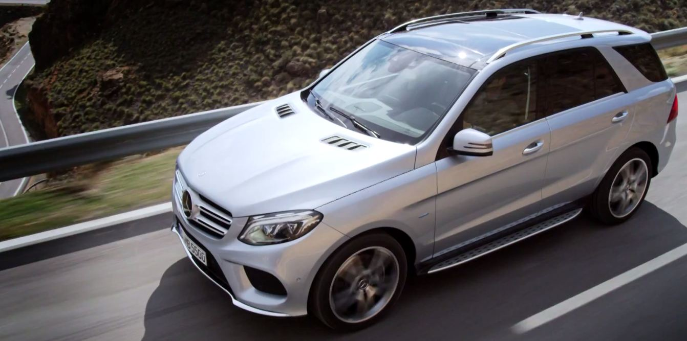 Mercedes-Benz GLE 2016 видео