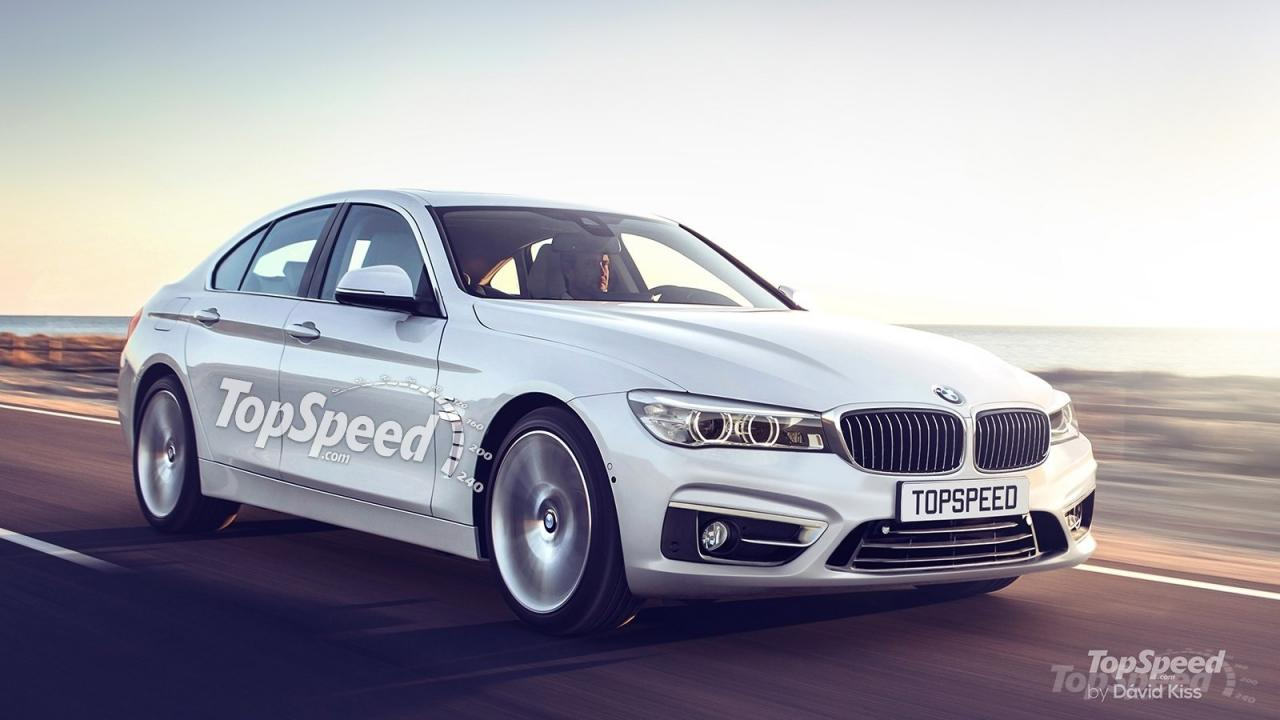 BMW 5-Series 2017 рендер от Top Speed