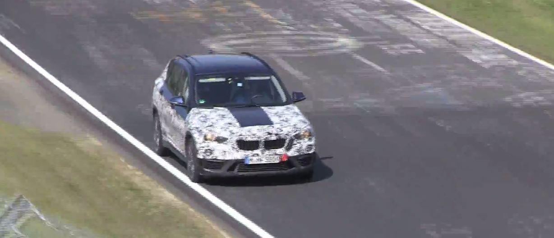 BMW X1 2016 шпионские фото/видео