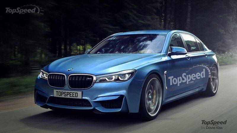 BMW M7 2016 рендер от TopSpeed