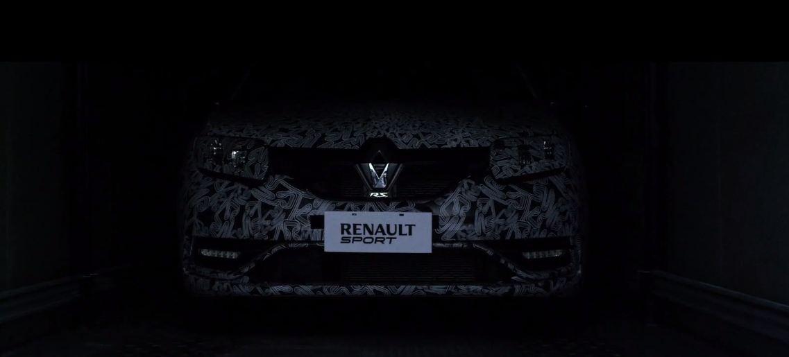 Renault Sandero RS видео-тизер