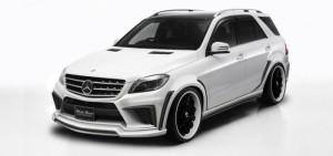 Предпоказ тюнинг-пакета на Mercedes-Benz M-Class от Wald International