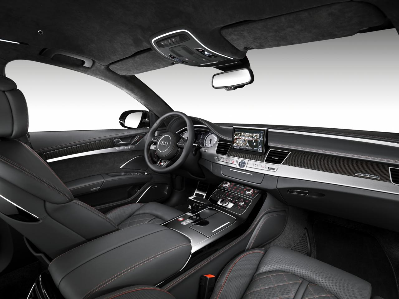 Audi S8 Plus interior dashboard