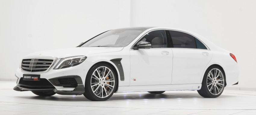 Представлен Brabus Rocket 900 на базе Mercedes-Benz S65 AMG (обновлено)