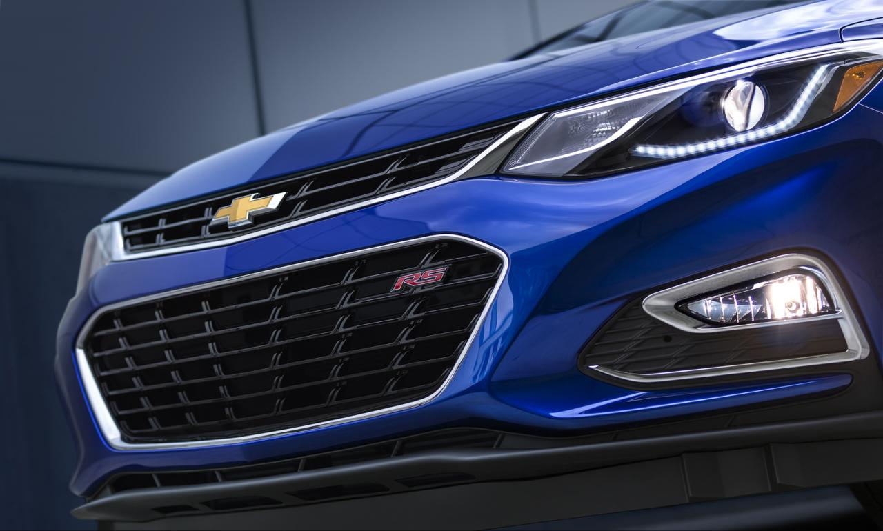 Представлен Chevrolet Cruze 2016