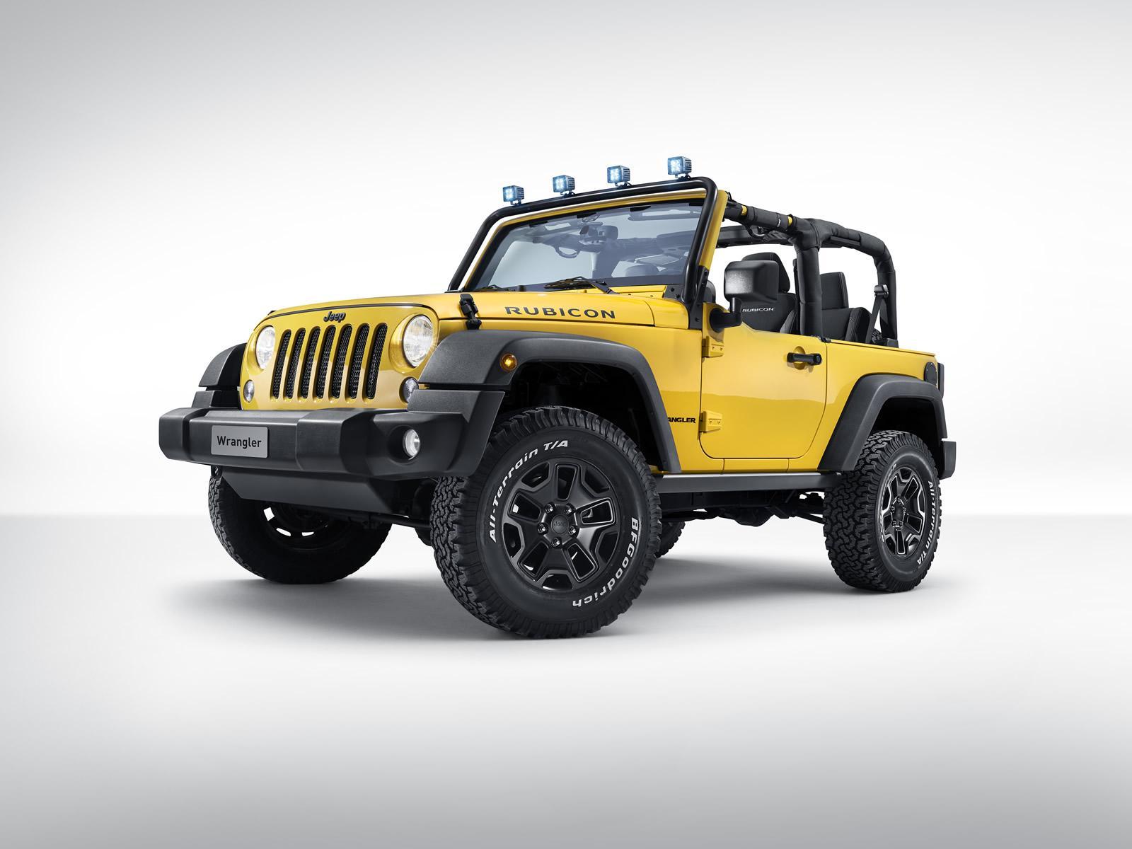 Представлен Jeep Wrangler Rubicon Rocks Star