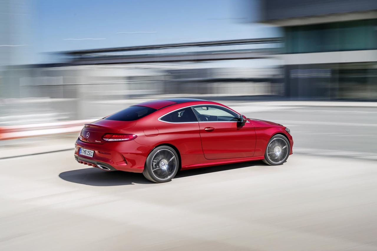 Mercedes-Benz C-Class Coupe 2016