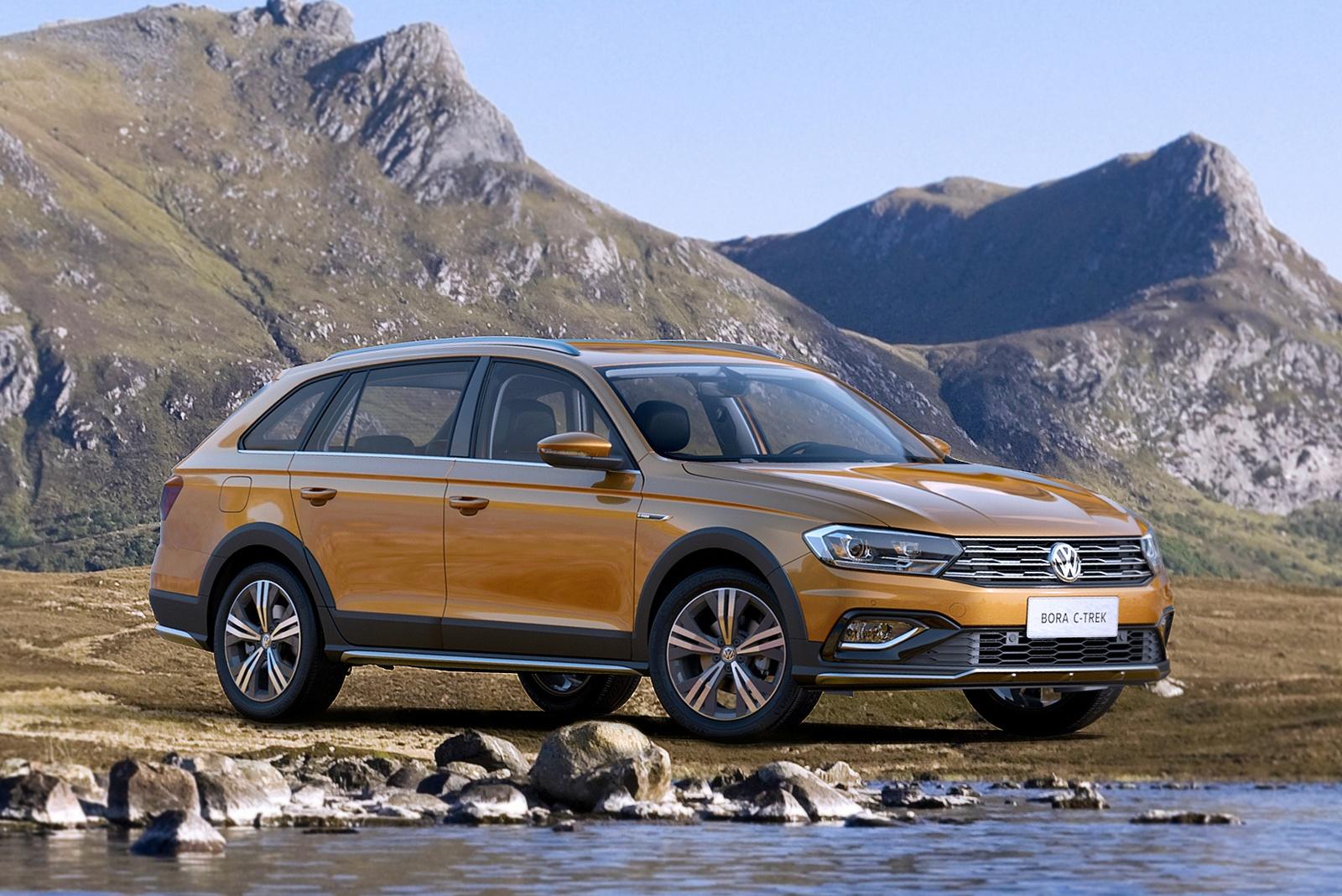 Volkswagen Bora C-Trek