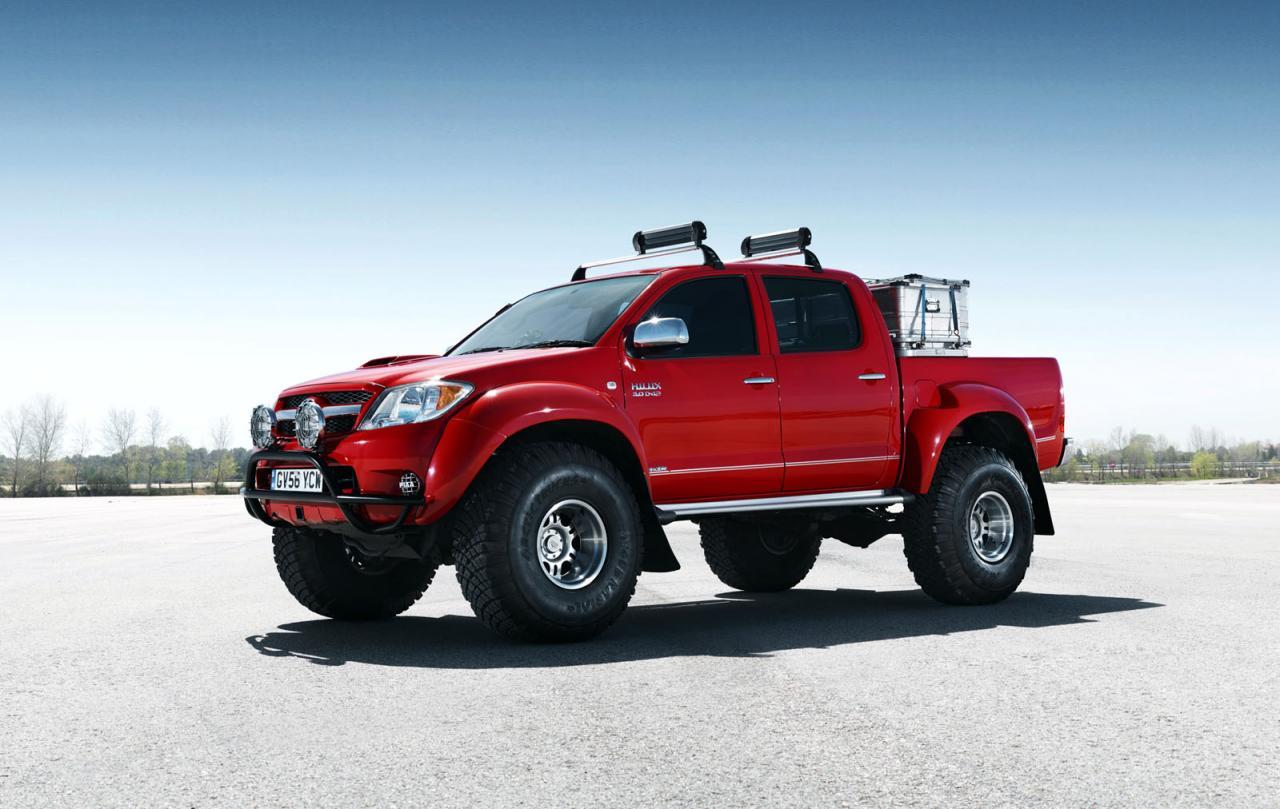 Toyota Hilux европейская версия