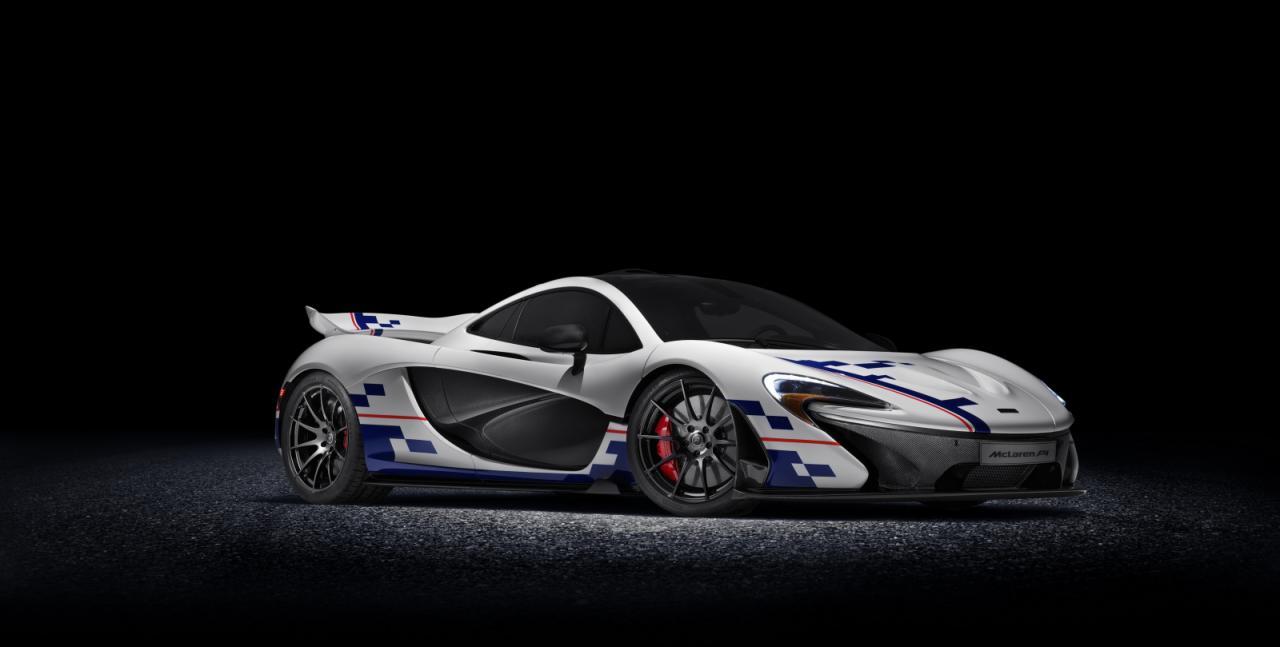 McLaren P1 в честь Алена Проста от MSO