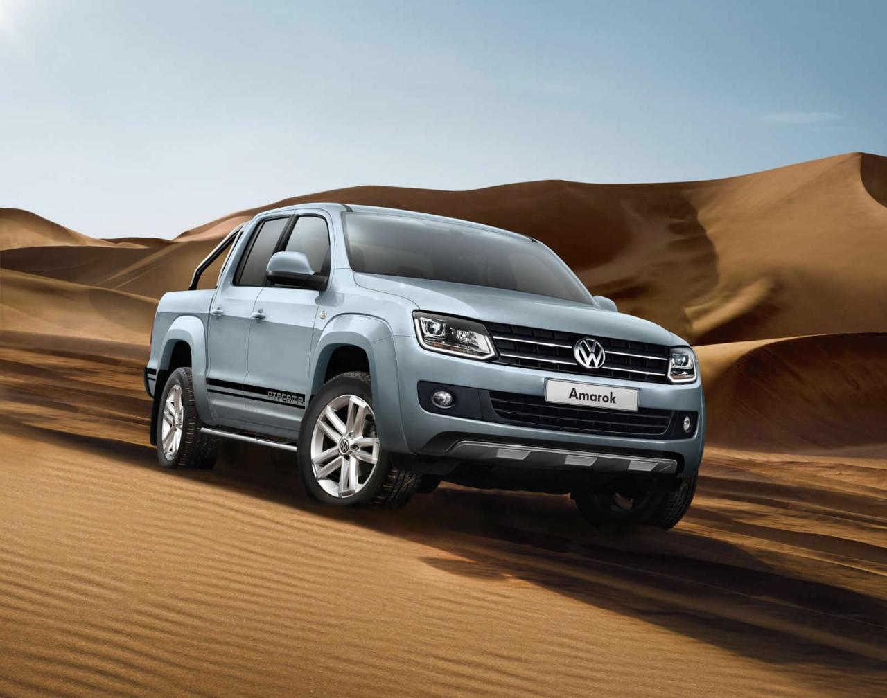Volkswagen Amarok Atacama 2015 front side / спереди сбоку