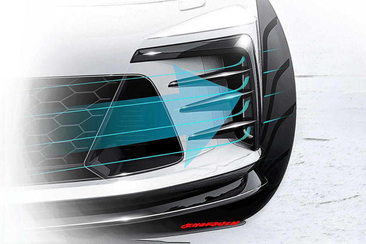 Volkswagen Golf GTI Clubsport concept teaser