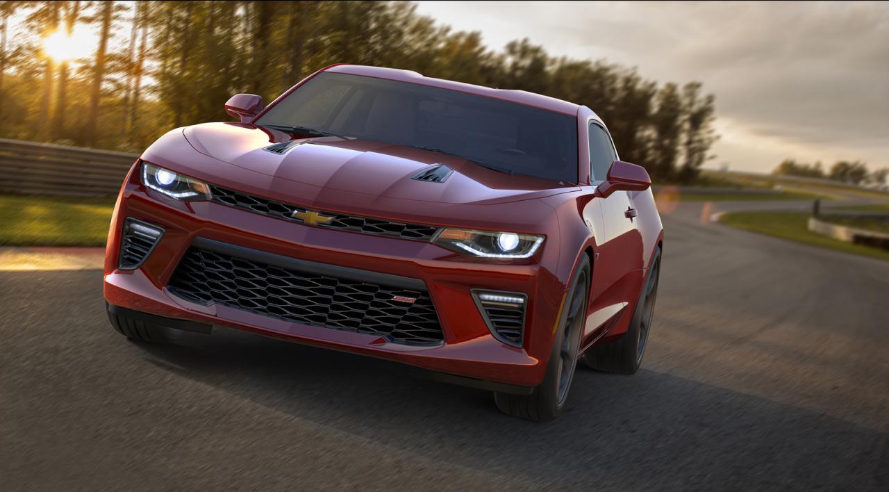 Представлено новое поколение Chevrolet Camaro