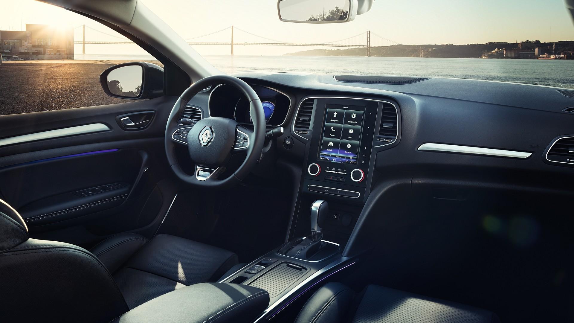Renault Megane 2017 седан официальное фото
