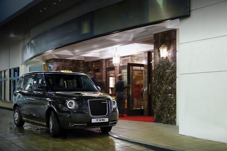 Geely TX-5 новое такси Лондона