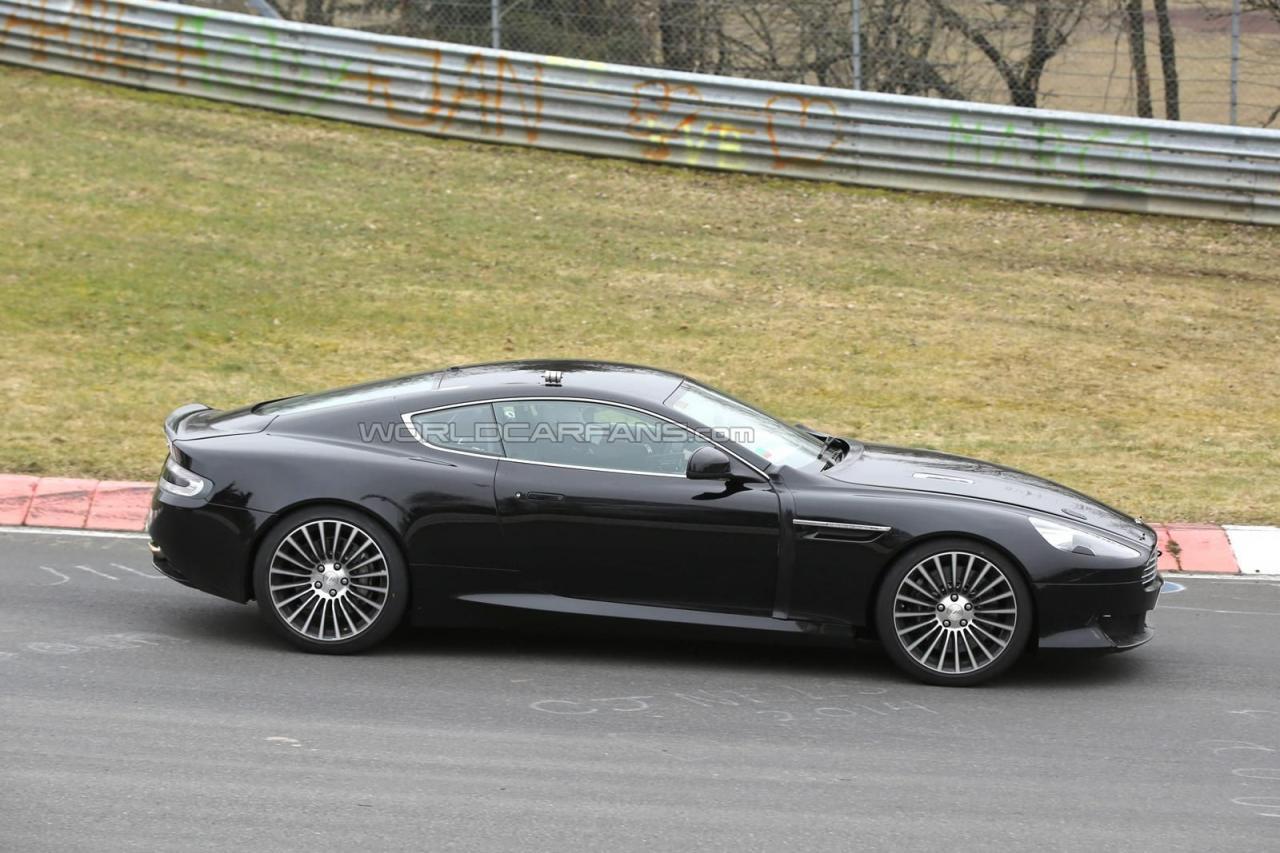 Преемник Aston Martin DB9 может получить турбмотор V12