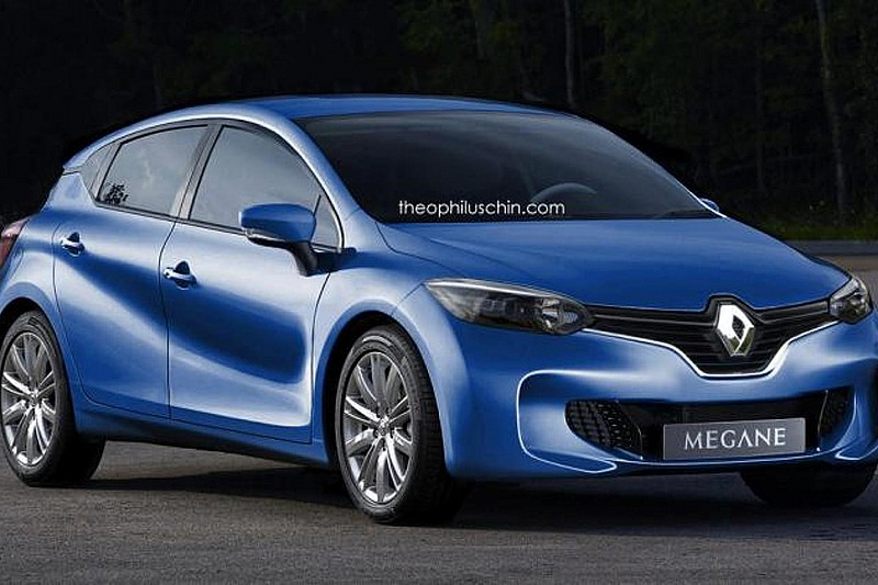 Renault Megane 2016 рендер Theophilus Chin