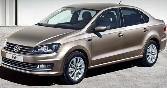 Продажи седана Volkswagen Polo в России растут