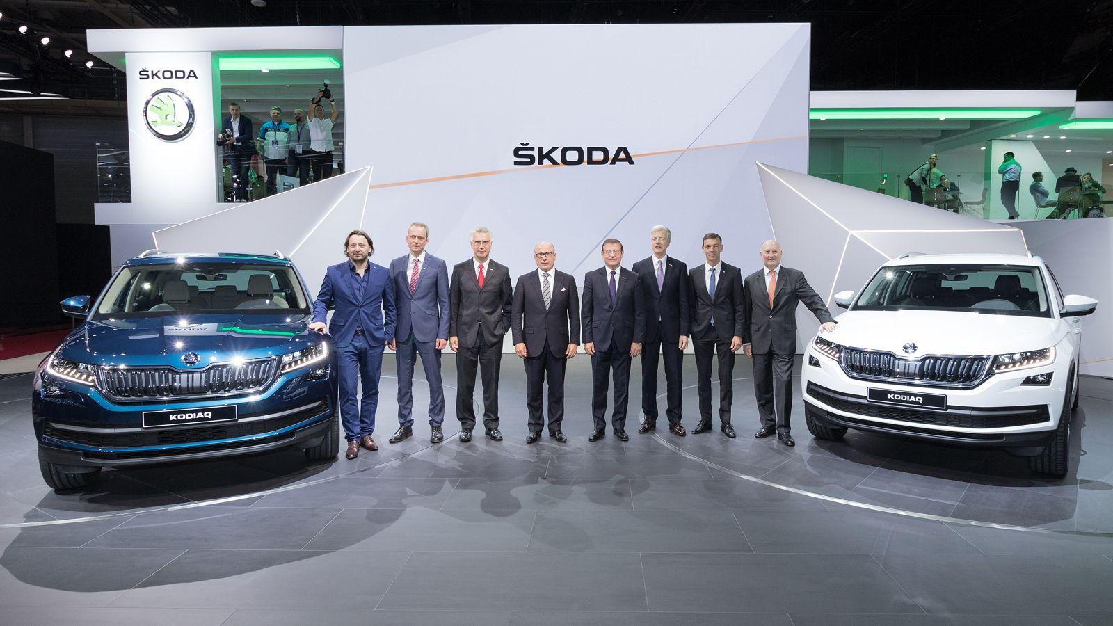 Skoda Kodiaq - презентация на Парижском автосалоне