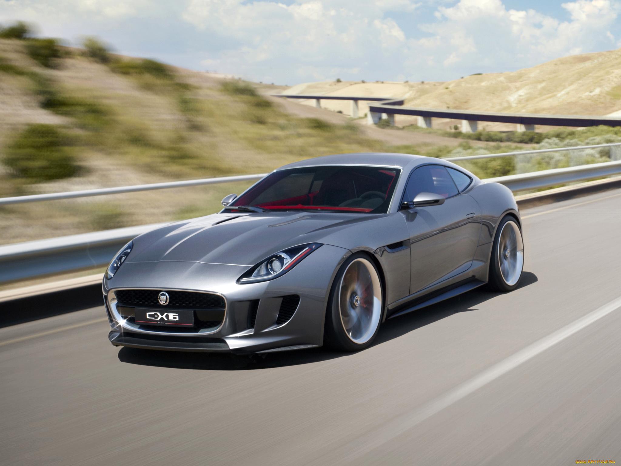 Роскошный спортивный автомобиль Jaguar