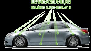 Шумоизоляция в авто