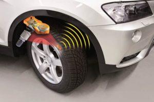 Датчики давления в шинах бмв