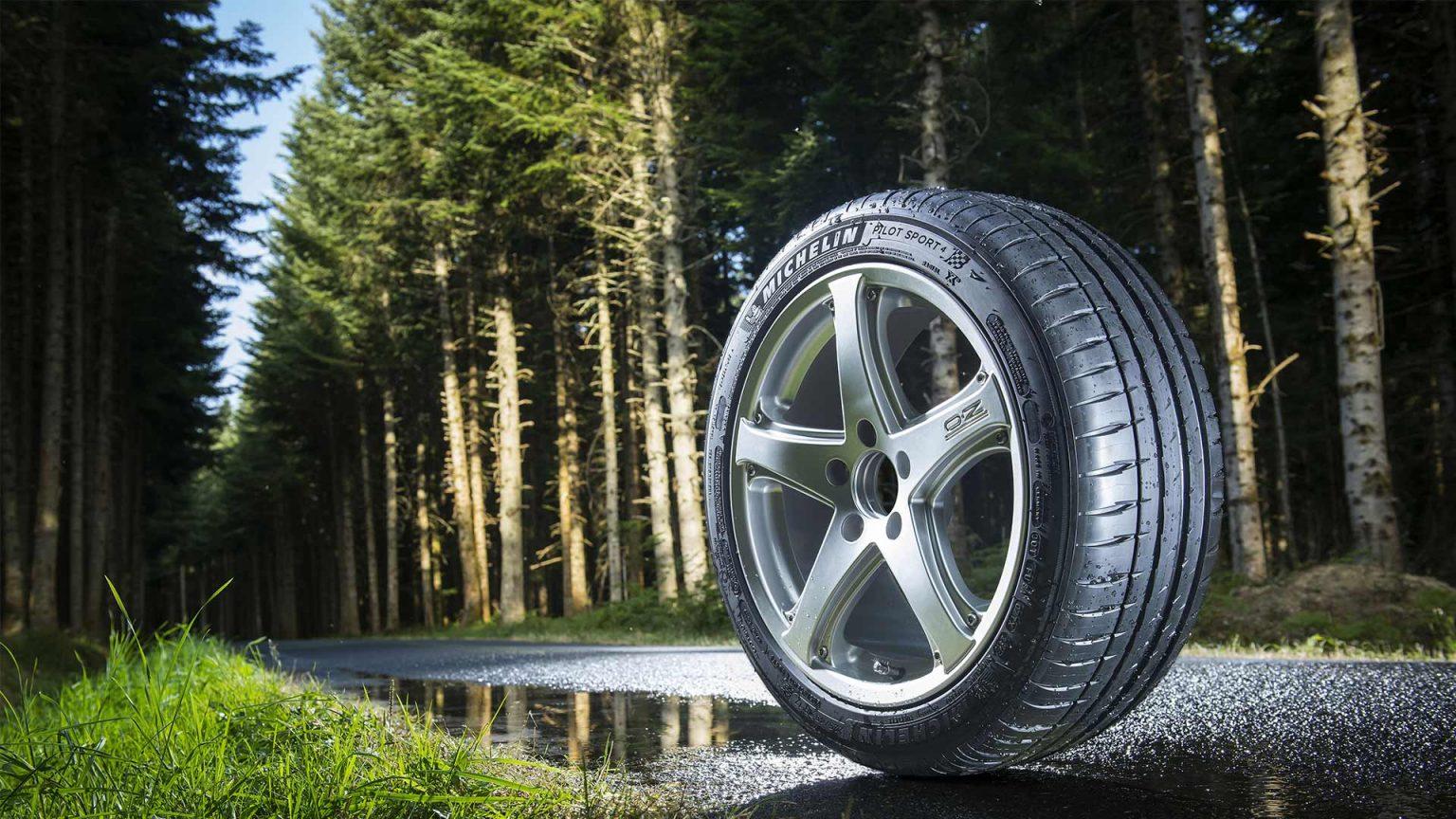 Автомобильные шины марок Bridgestone и Continental