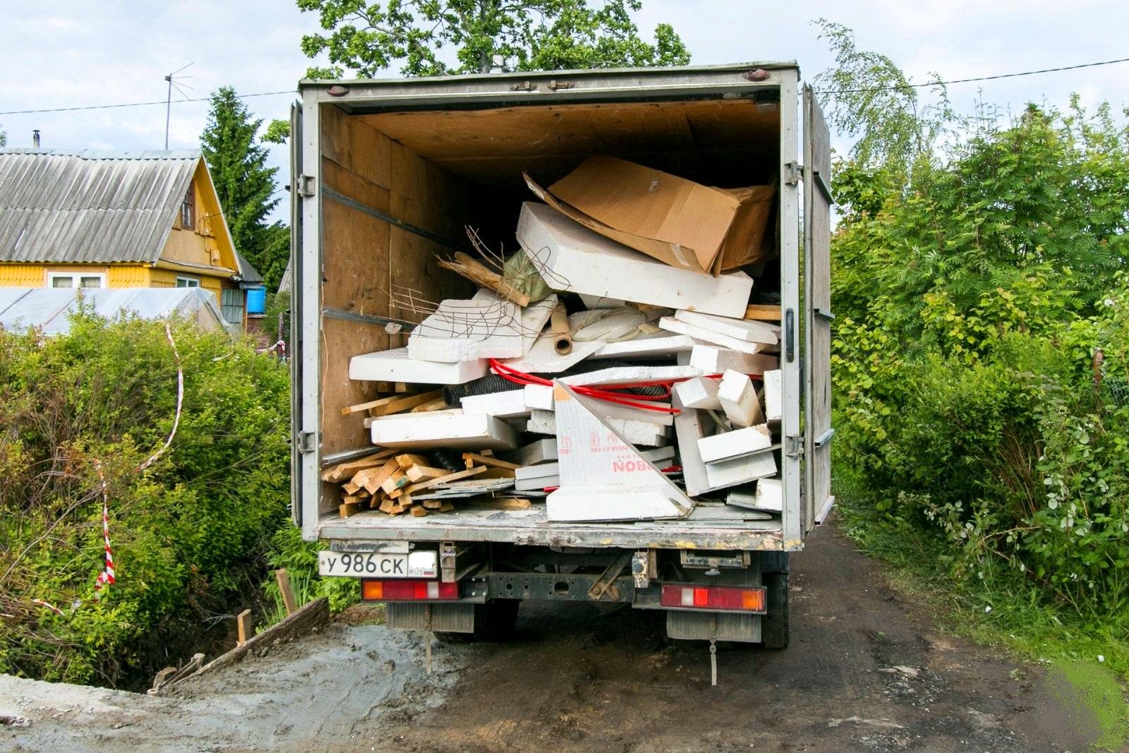 газели для вывоза мусора