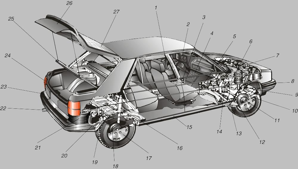Безопасности на дороге можно добиться лишь с помощью исправных деталей автомобиля