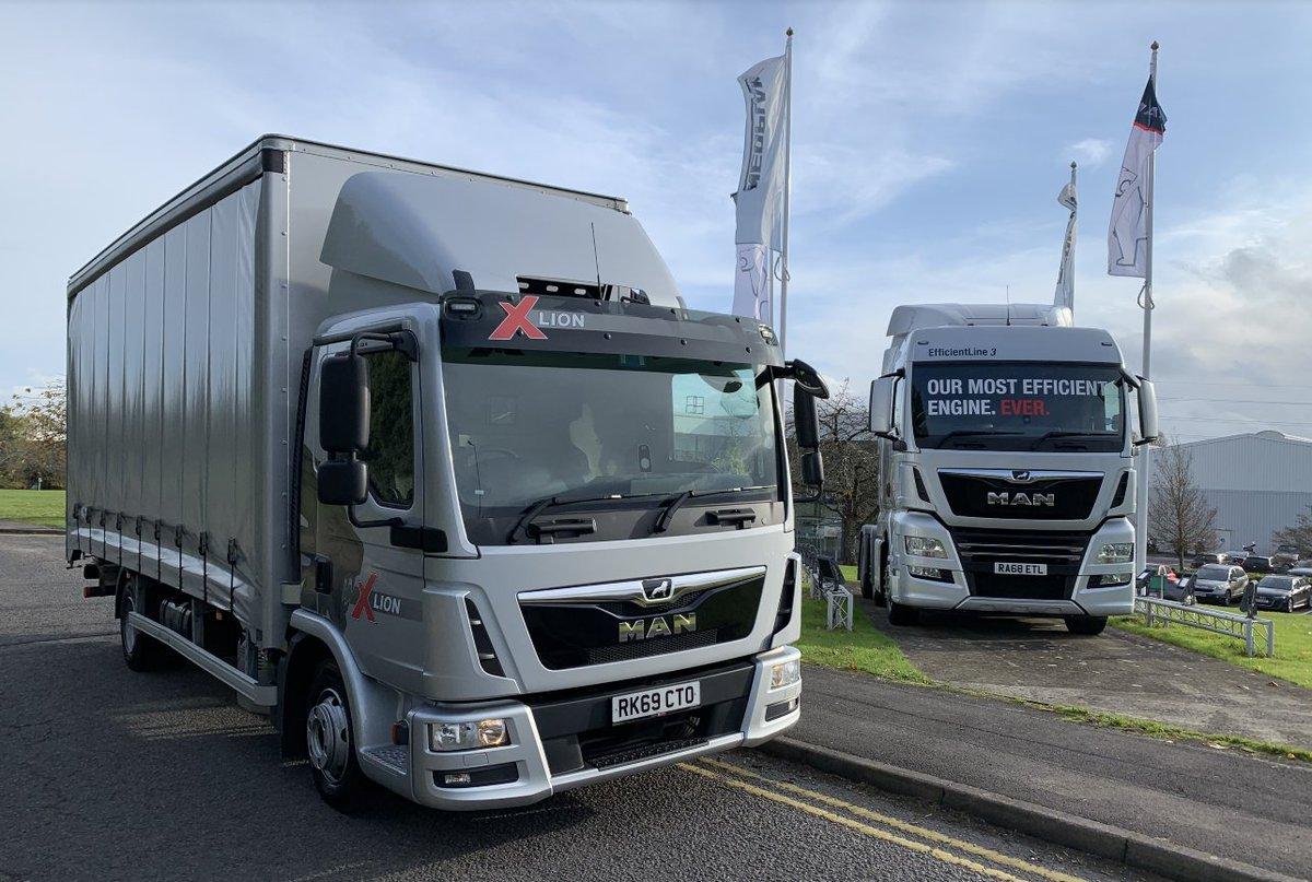 Коммерческие грузовики МАН